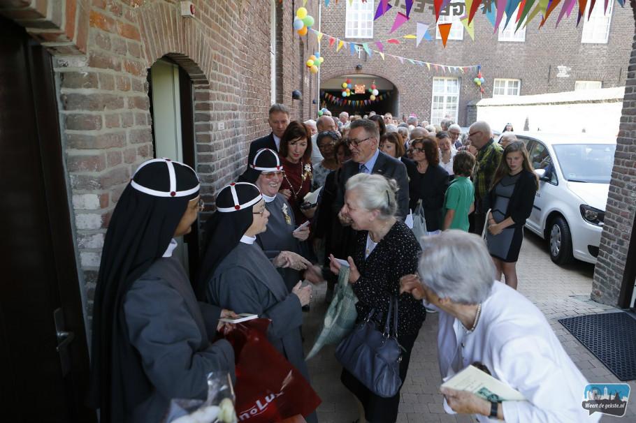 Gouden kloosterfeest zr. Francisca (Weertdegekste)