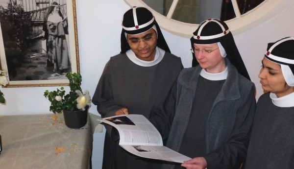 Zuster Birgittinessen lezen de Sleutel