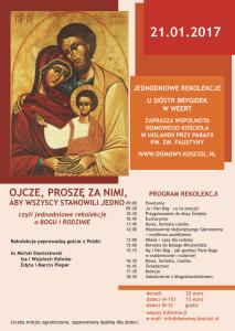 Folder Domowy Kościół 2016
