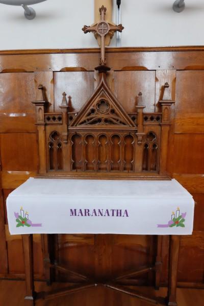Advent: Maranatha!