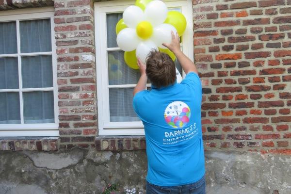 Versieren met mooie balonnen