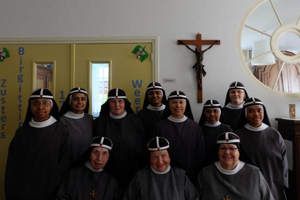 Bezoek abdissen uit Vadstena (Zweden) en Uden