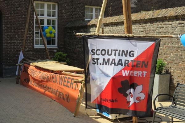 Scouting aan het werk