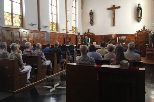 H. Mis in onze kapel