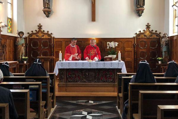 H. Mis in onze kapel, ter nagedachtenis aan de H. Knoert (10 juli)