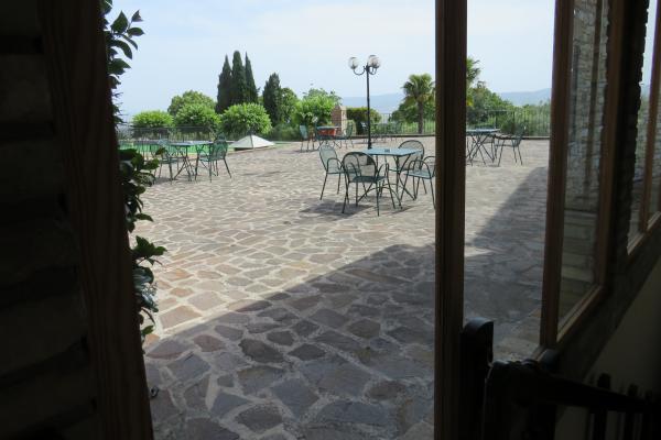 Birgittinessen Assisi: terras