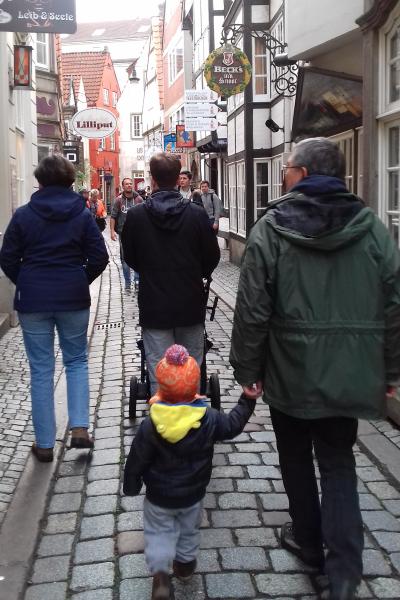 Birgittinessen Bremen: Schnoor