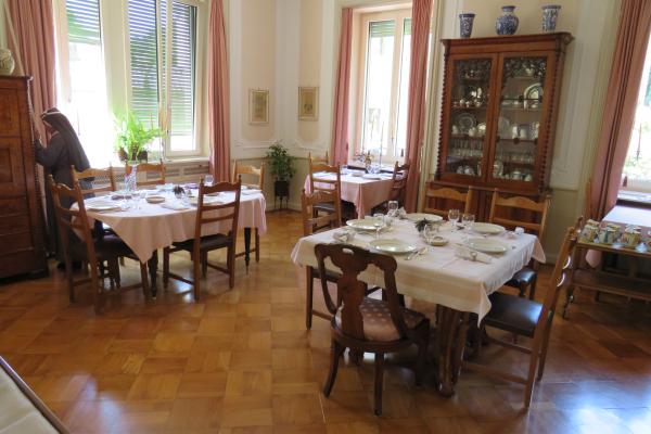 Birgittinessen Lugano: eetzaal