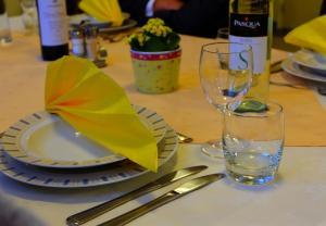 Diner in eetzaal