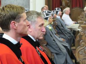 Ook de Broederschap Weert was aanwezig.