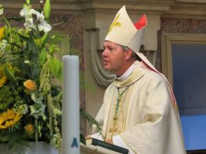 Hoofdcelebrant in de Heilige Mis was Mgr. Mutsaerts, hulpbisschop van 's-Hertogenbosch.