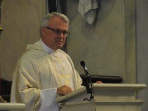 Dankbaar voor pastoor Franken, deken van Weert, voor alles wat hij voor ons doet en gedaan heeft.