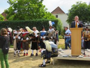 De heer Peter Korten trad op als ceremoniemeester.
